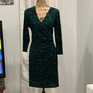 Ralph Lauren Chaps wrap dress L